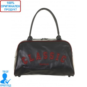 ded7e5a7478 Reebok Varsity - дамска чанта - тъмно синьо