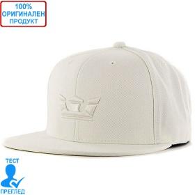 Supra - шапка с козирка - бяло - бяло