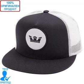 Supra - шапка с козирка - мрежа - черно- бяло
