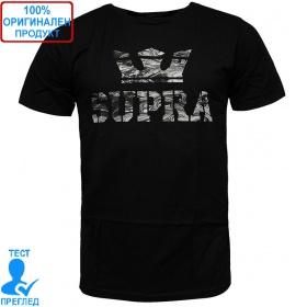 Supra Above T-shirt - мъжка тениска - черно - сиво