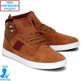 Supra Bandit - мъжки обувки - кафяво- бяло, Dreshnik.com
