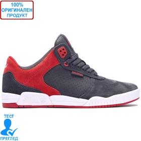 Supra Ellington - спортни обувки - сиво - червено