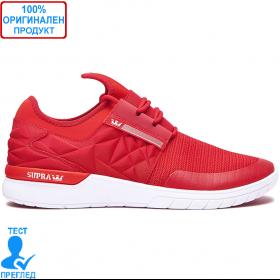 Supra Flow - маратонки - червено - бяло