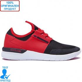 Supra Flow - маратонки - червено - черно, Dreshnik.com