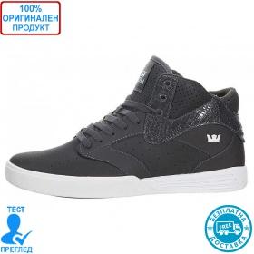 Supra Khan - мъжки обувки - сиво, Dreshnik.com