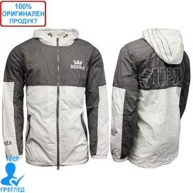 Supra Lightweight Dash - мъжко яке - сиво - бяло