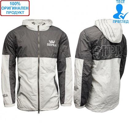 ДРЕХИ - Supra Lightweight Dash - мъжко яке - сиво - бяло