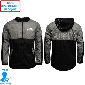 Supra Lightweight Dash - мъжко яке - сиво - черно