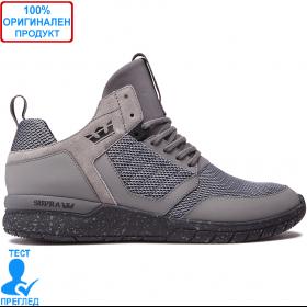 Supra Method Mid - маратонки - сиво - сиво