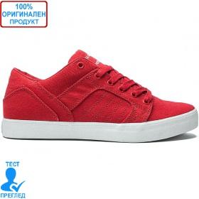 Supra Skylow Red Canvas - кецове - червено