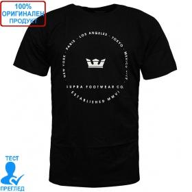 Supra Sphere T-shirt - мъжка тениска - черно, Dreshnik.com