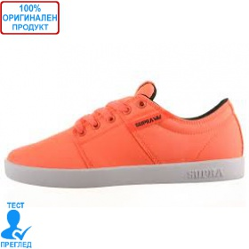 Supra Stacks - кецове - оранжево