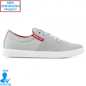 Supra Stacks - мъжки обувки - светло сиво, Dreshnik.com