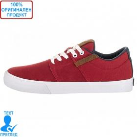 Supra Stacks - мъжки обувки - червено, Dreshnik.com