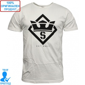 Supra Stencil T-shirt - мъжка тениска - бяло