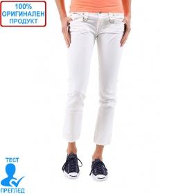 SW by Einstein - дамски панталон - бял с ципче