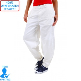 SW by Einstein - дамски широк панталон - бял