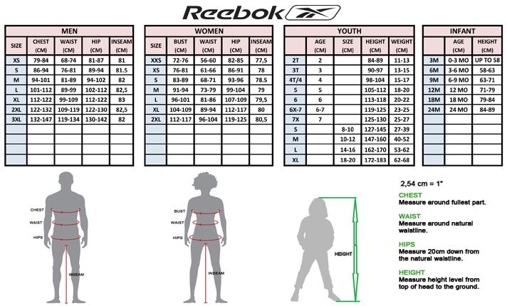 Selling Reebok Shoe Size Chart Off 73 Free Shipping Janome Co Com